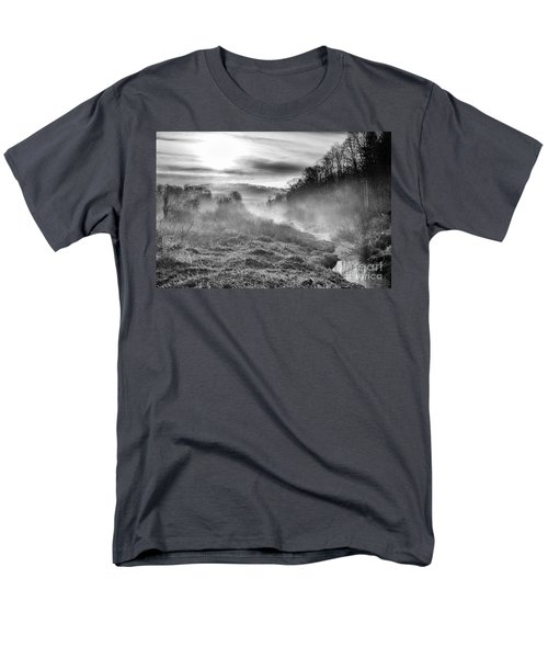 Men's T-Shirt  (Regular Fit) featuring the photograph Winter Mist by Thomas R Fletcher