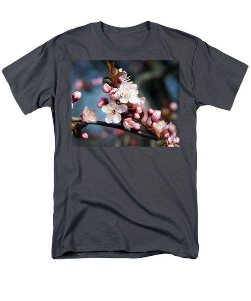 Tree Blossoms Men's T-Shirt  (Regular Fit) by Elvira Ladocki