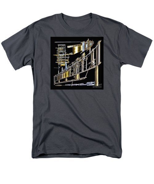 21st Century Erector Set ? Men's T-Shirt  (Regular Fit) by Walt Foegelle