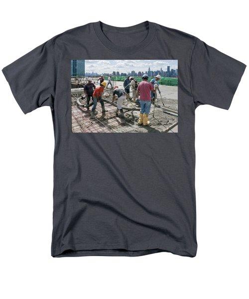 27th Street Lic 1 Men's T-Shirt  (Regular Fit) by Steve Sahm