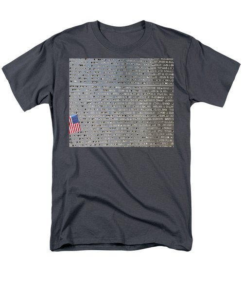 9-11 Memorial Rocky Point New York Men's T-Shirt  (Regular Fit) by Bob Savage