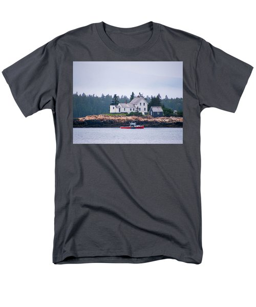 Men's T-Shirt  (Regular Fit) featuring the photograph Acadia National Park  by Trace Kittrell