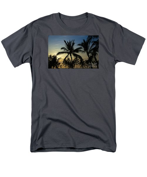 Men's T-Shirt  (Regular Fit) featuring the photograph Kona Sunset by Kelly Wade