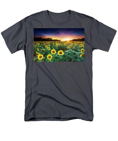 3 Suns Men's T-Shirt  (Regular Fit) by Edward Kreis