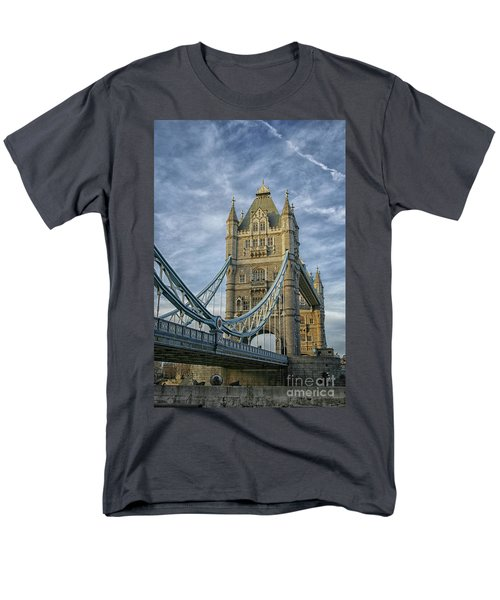 Tower Bridge London Men's T-Shirt  (Regular Fit) by Patricia Hofmeester