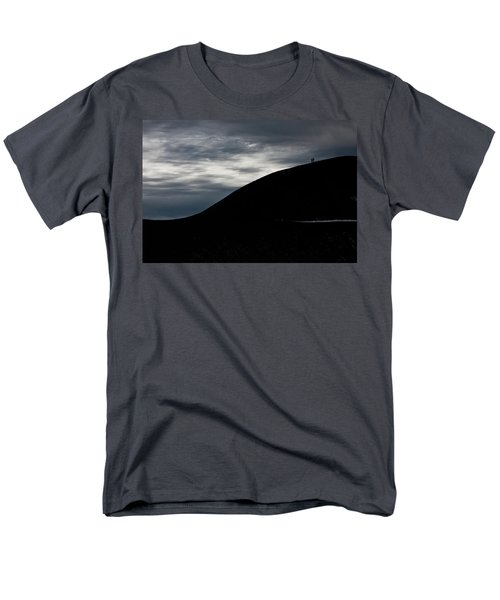 Men's T-Shirt  (Regular Fit) featuring the photograph Etna, The Volcano by Bruno Spagnolo