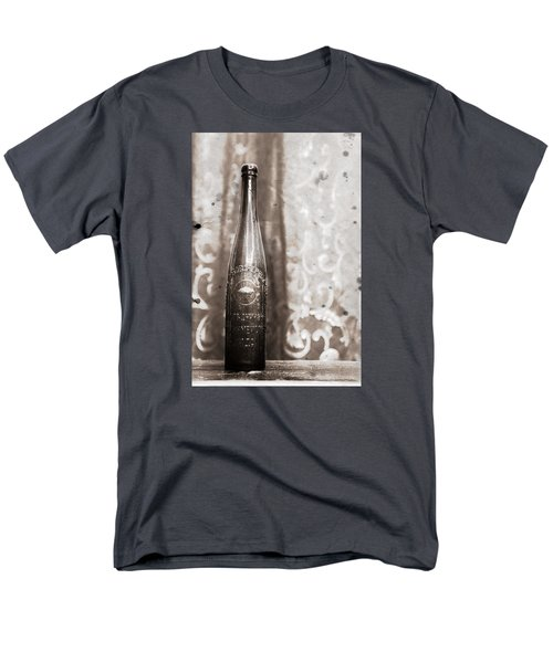 Men's T-Shirt  (Regular Fit) featuring the photograph Vintage Beer Bottle by Andrey  Godyaykin