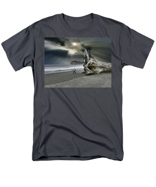 Men's T-Shirt  (Regular Fit) featuring the photograph 4392 by Peter Holme III