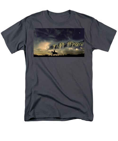 Men's T-Shirt  (Regular Fit) featuring the photograph 4403 by Peter Holme III