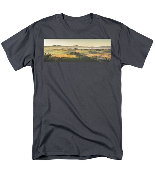 Golden Tuscany Men's T-Shirt  (Regular Fit) by JR Photography