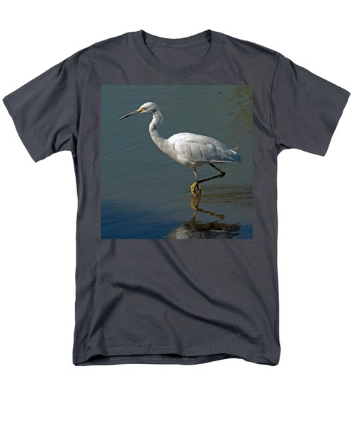 Snowy Egret Men's T-Shirt  (Regular Fit) by Tam Ryan