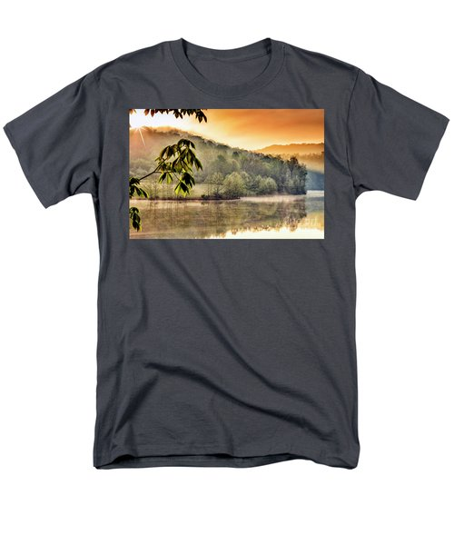Stonewall Resort Sunrise Men's T-Shirt  (Regular Fit) by Thomas R Fletcher