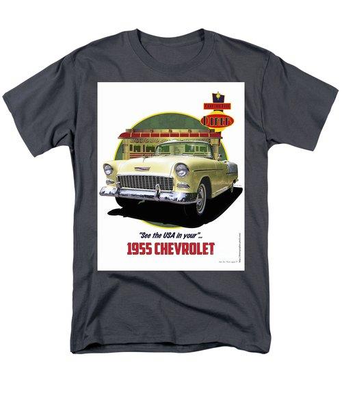 55 Chevy Men's T-Shirt  (Regular Fit)