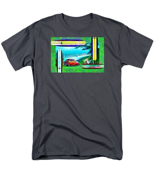 60's Surfing Men's T-Shirt  (Regular Fit) by Caito Junqueira