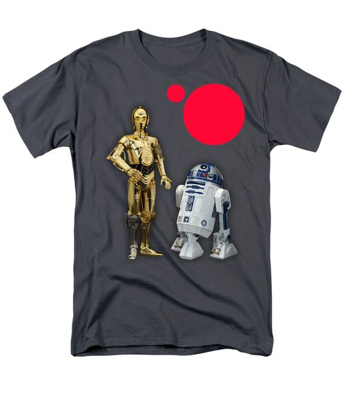 Star Wars C3po And R2d2 Collection Men's T-Shirt  (Regular Fit) by Marvin Blaine