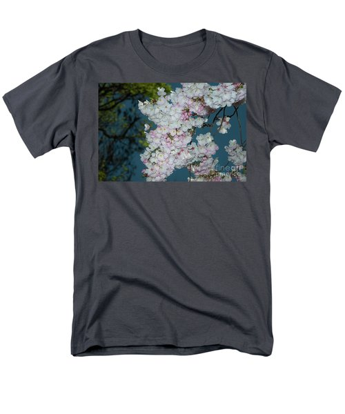 Silicon Valley Cherry Blossoms Men's T-Shirt  (Regular Fit) by Glenn Franco Simmons