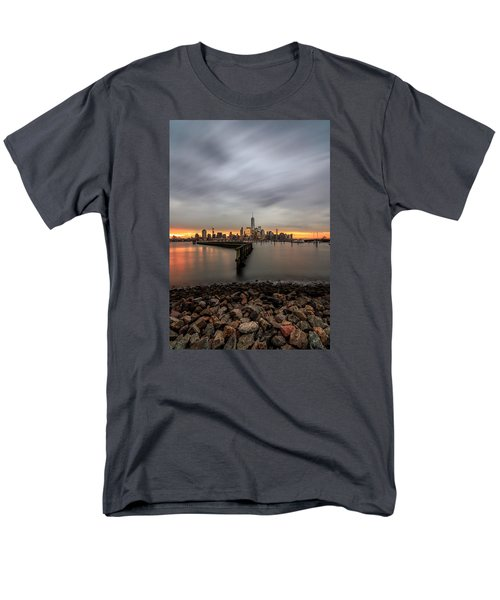 A Beautiful Morning  Men's T-Shirt  (Regular Fit) by Anthony Fields