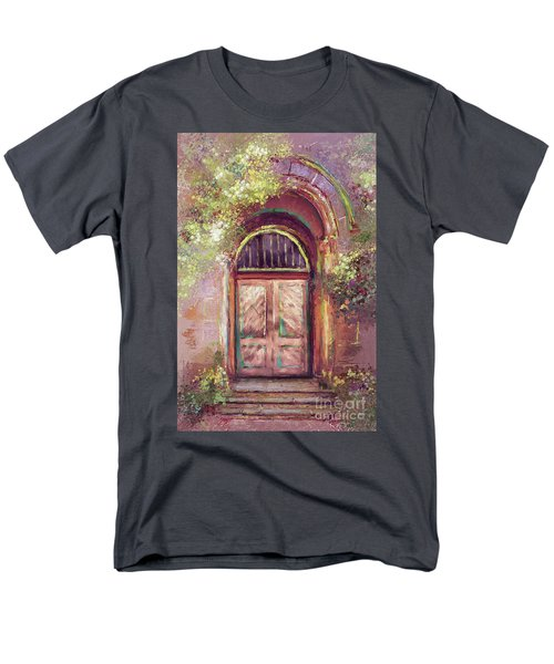 Men's T-Shirt  (Regular Fit) featuring the digital art A Beautiful Mystery by Lois Bryan