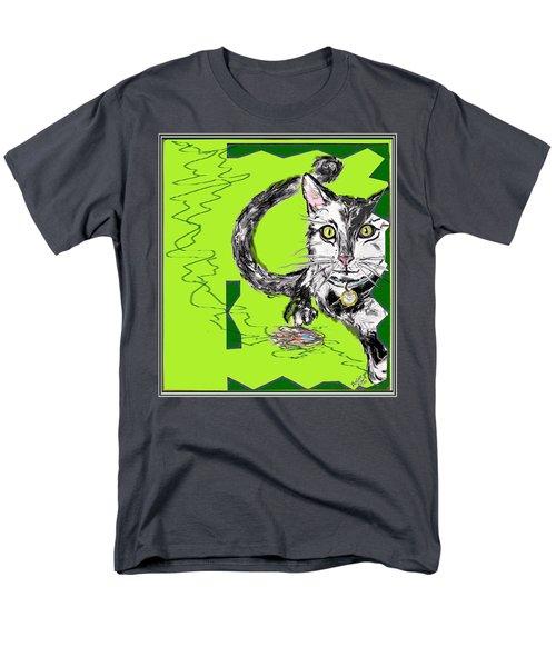 A Cat Men's T-Shirt  (Regular Fit)