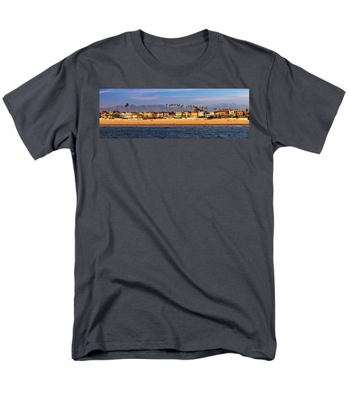 Men's T-Shirt  (Regular Fit) featuring the photograph A Clear Day At The Beach by James Eddy