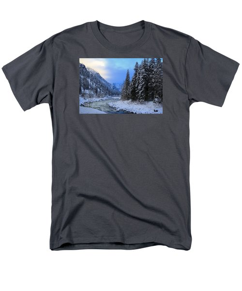 A Cold Winter Day Version 2 Men's T-Shirt  (Regular Fit)