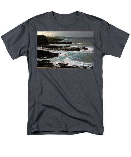 A Dangerous Coastline Men's T-Shirt  (Regular Fit) by Blair Stuart