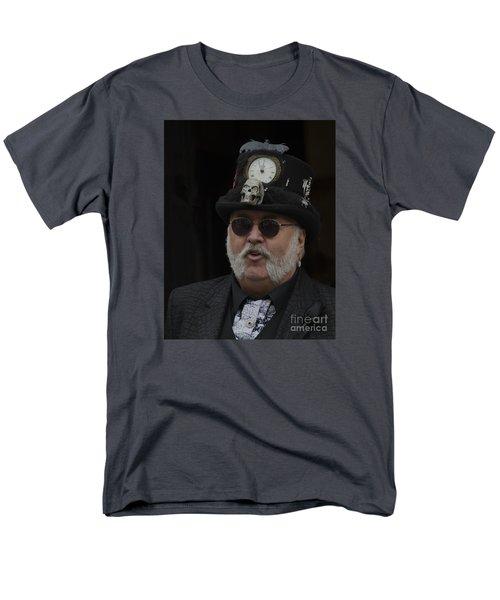 A Dapper Steampunk Men's T-Shirt  (Regular Fit) by David  Hollingworth