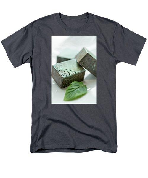 A Hint Of Mint Men's T-Shirt  (Regular Fit) by Sabine Edrissi