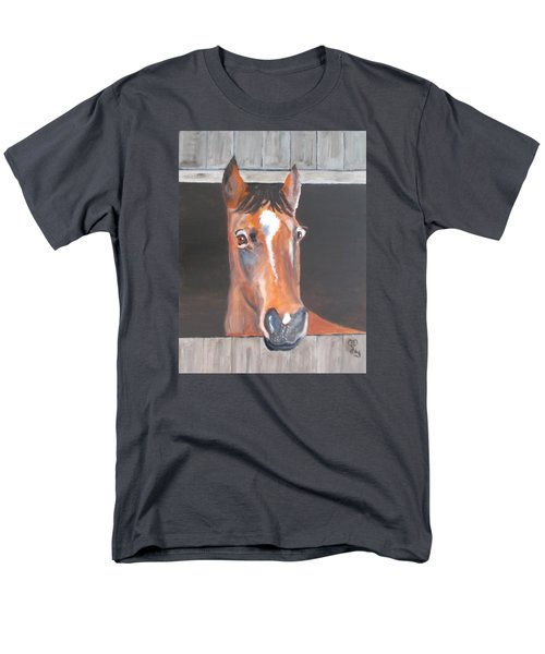 A Horse With No Name Men's T-Shirt  (Regular Fit) by Carole Robins