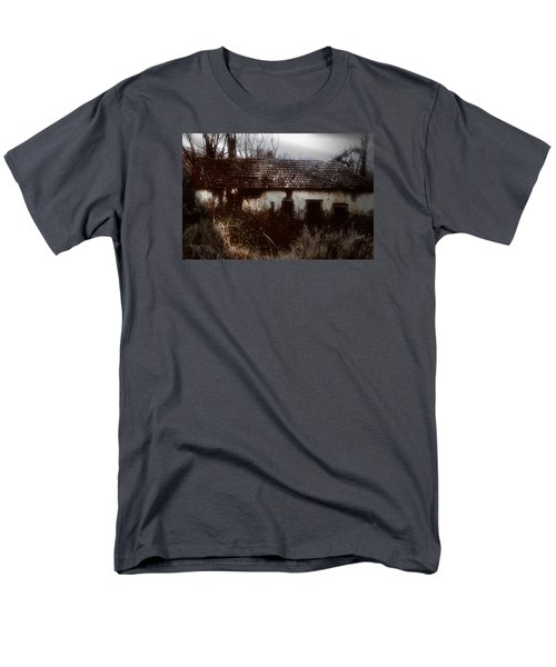 Men's T-Shirt  (Regular Fit) featuring the photograph A House In The Woods by Mimulux patricia no No