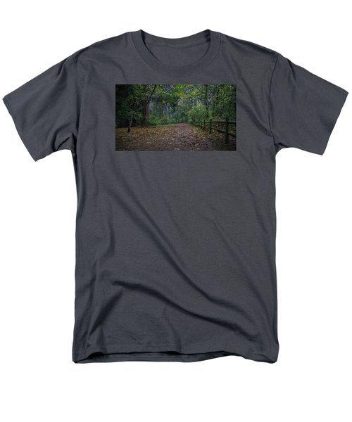A Lincoln Park Autumn Men's T-Shirt  (Regular Fit) by Ken Stanback