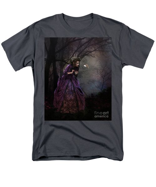 Men's T-Shirt  (Regular Fit) featuring the digital art A Little Bird Told Me by Shanina Conway