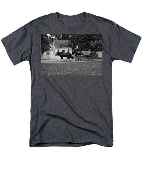 A Look Back Men's T-Shirt  (Regular Fit) by Eric Liller