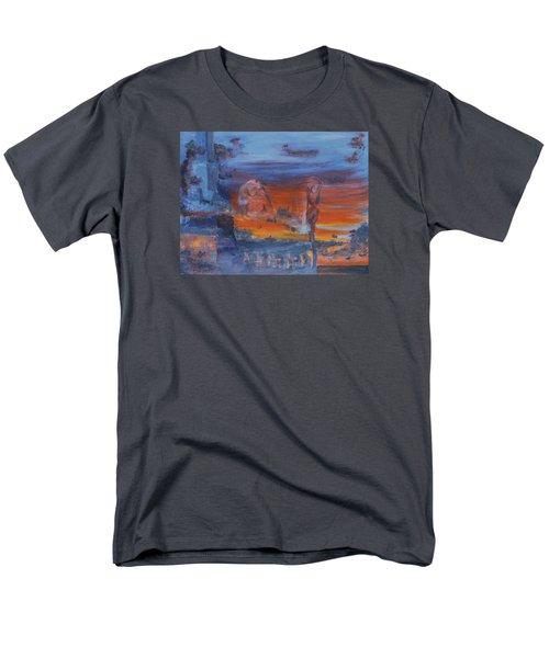 A Mystery Of Gods Men's T-Shirt  (Regular Fit) by Steve Karol