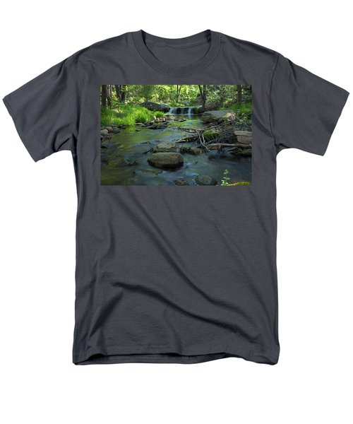 A Place Of Solitude Men's T-Shirt  (Regular Fit) by Sue Cullumber