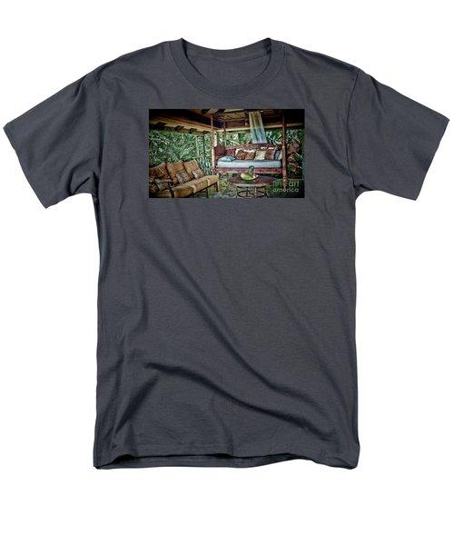 A Place To Retreat Men's T-Shirt  (Regular Fit) by Pamela Blizzard