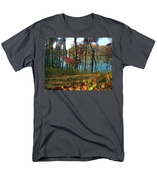 A Place To Think Men's T-Shirt  (Regular Fit) by Cedric Hampton