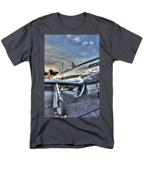 A Reflective Mustang Men's T-Shirt  (Regular Fit) by David Collins