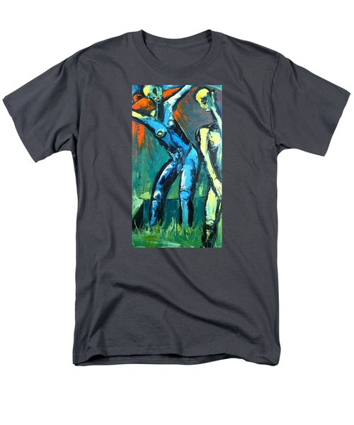 Men's T-Shirt  (Regular Fit) featuring the painting A Resurrection by Kenneth Agnello