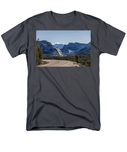 Men's T-Shirt  (Regular Fit) featuring the photograph A Road To Follow by Everet Regal