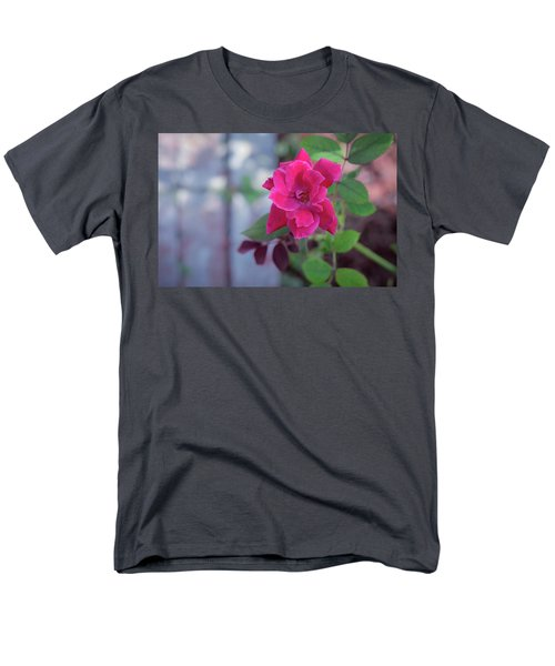 A Rose And A Hard Place Men's T-Shirt  (Regular Fit) by Stefanie Silva