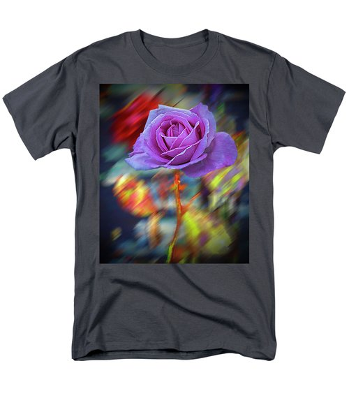 A Rose Men's T-Shirt  (Regular Fit) by Vladimir Kholostykh