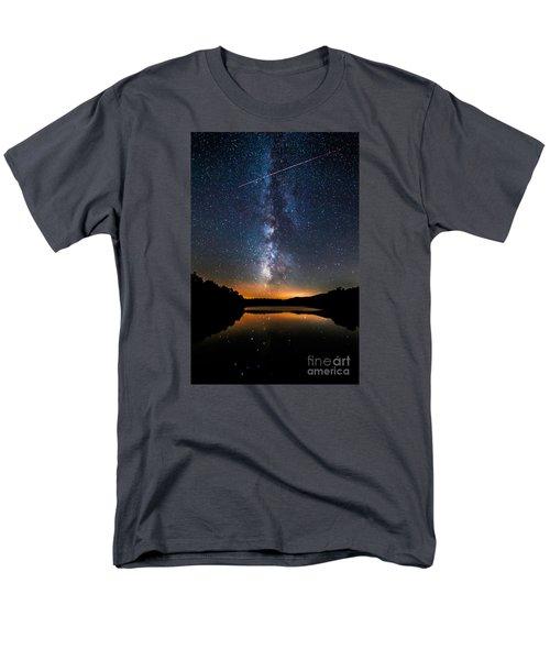 A Shooting Star Men's T-Shirt  (Regular Fit) by Robert Loe