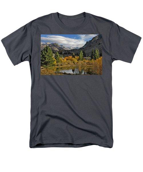 A Sierra Mountain View Men's T-Shirt  (Regular Fit) by Dave Mills