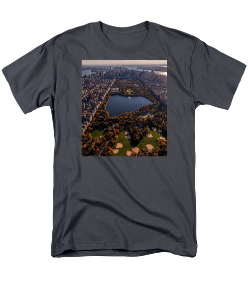 A Slice Of New York City  Men's T-Shirt  (Regular Fit) by Anthony Fields