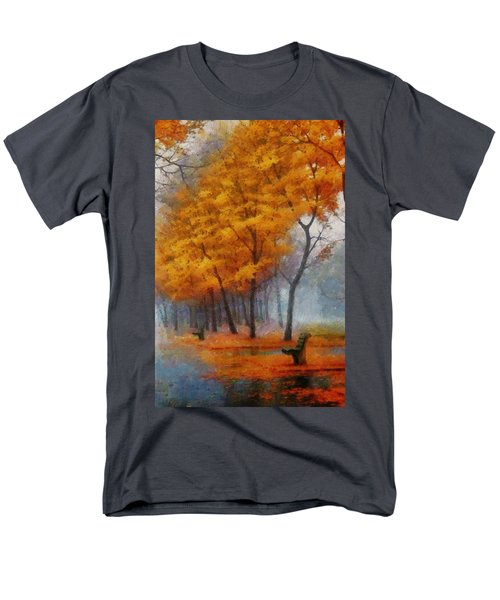 A Stand For Autumn Men's T-Shirt  (Regular Fit) by Mario Carini