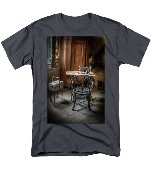 A Stitch In Time Men's T-Shirt  (Regular Fit) by Nathan Wright