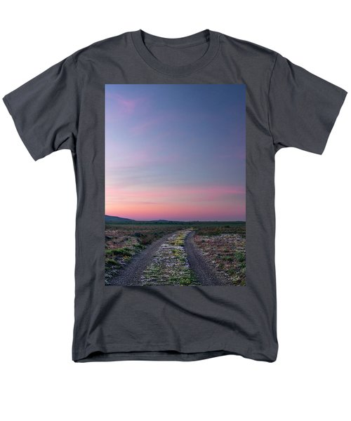 Men's T-Shirt  (Regular Fit) featuring the photograph A Sunrise Path by Leland D Howard