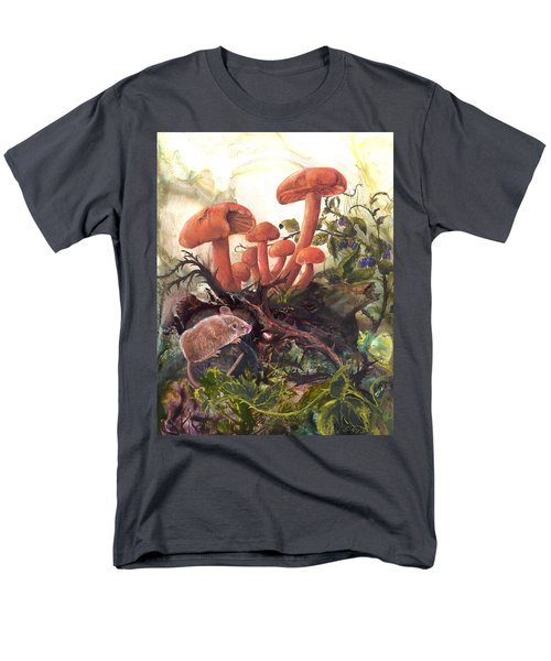 Men's T-Shirt  (Regular Fit) featuring the painting A Thorny Situation by Sherry Shipley