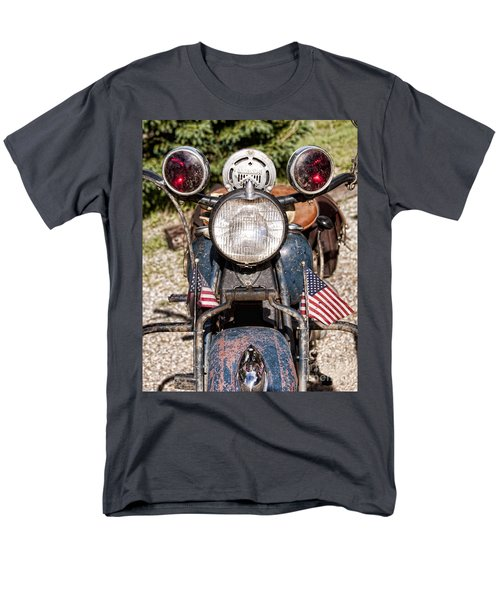 A Very Old Indian Harley-davidson Men's T-Shirt  (Regular Fit) by James BO  Insogna